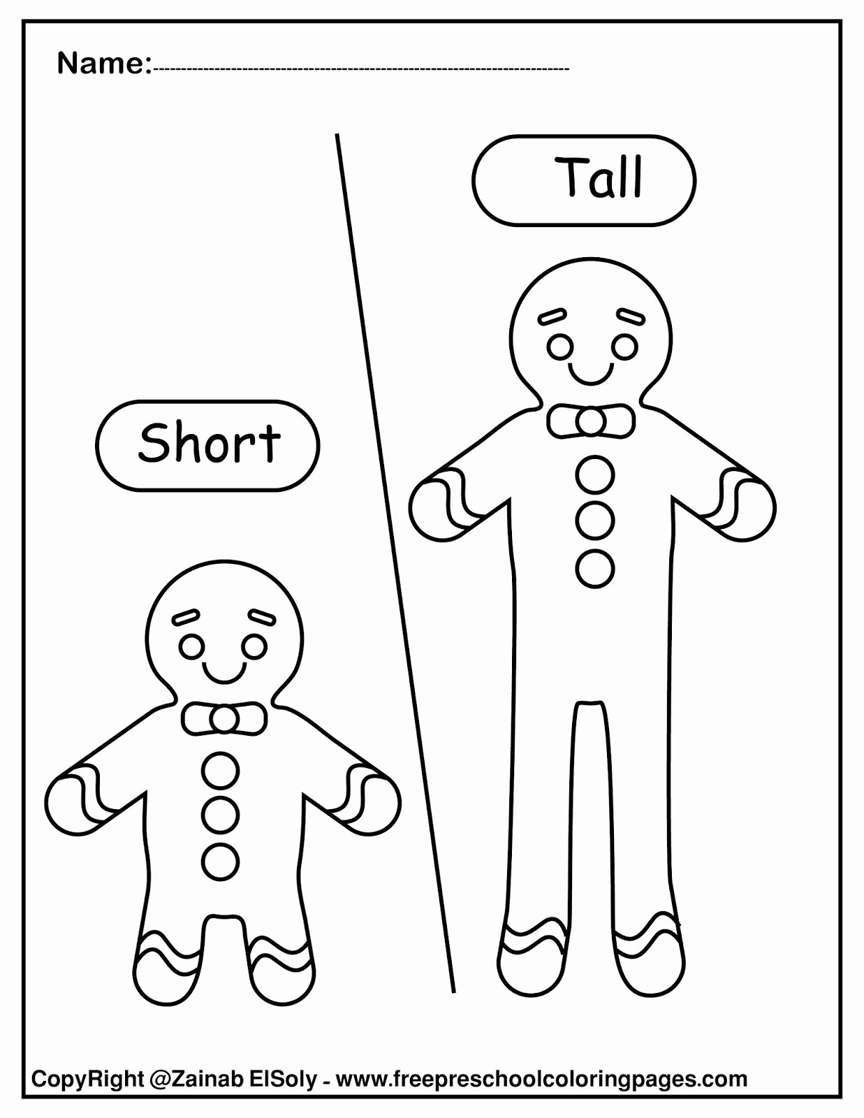 Opposite Worksheets for Preschoolers Best Of Worksheets Set Gingerbread Man Opposites for Kids Pre
