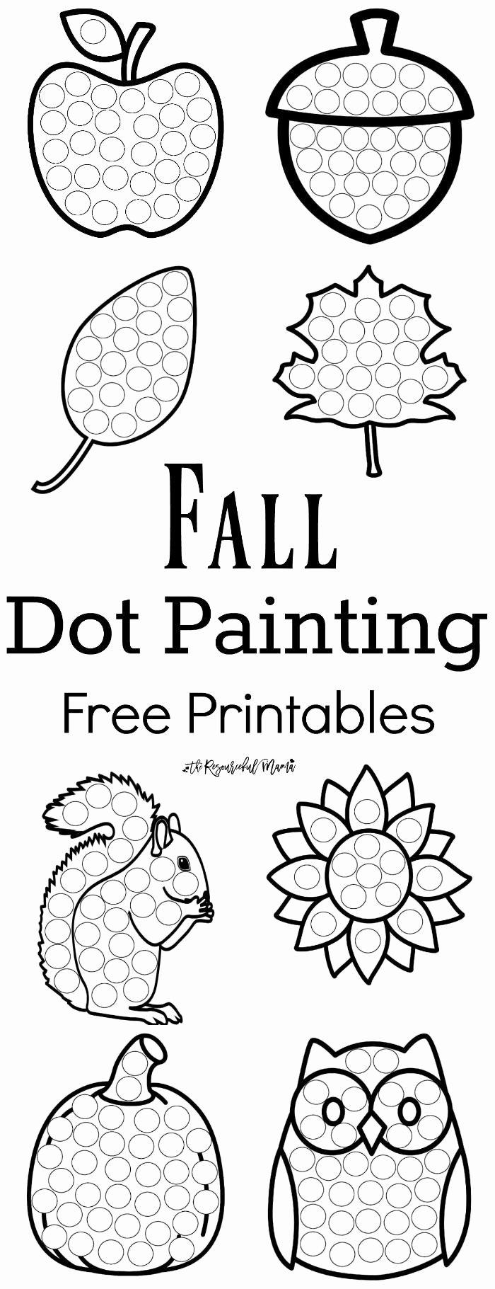 Painting Worksheets for Preschoolers New Preschoolers Coordination Printables Worksheets
