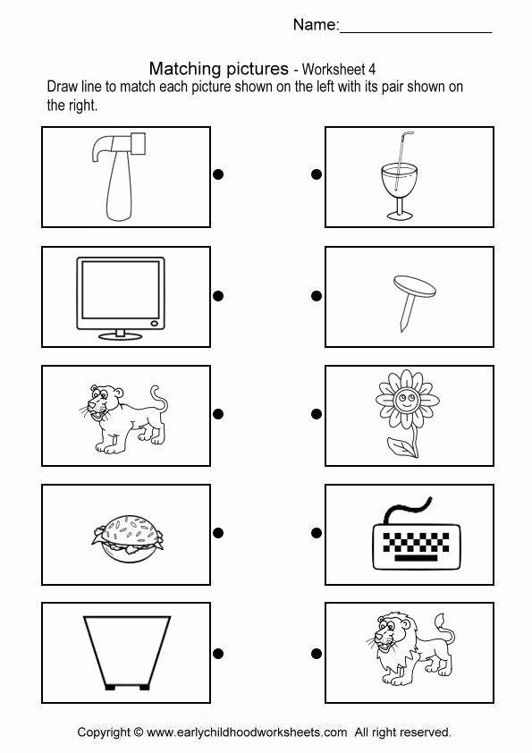 Pairing Worksheets for Preschoolers Best Of Math Brain Teaser Pair 4