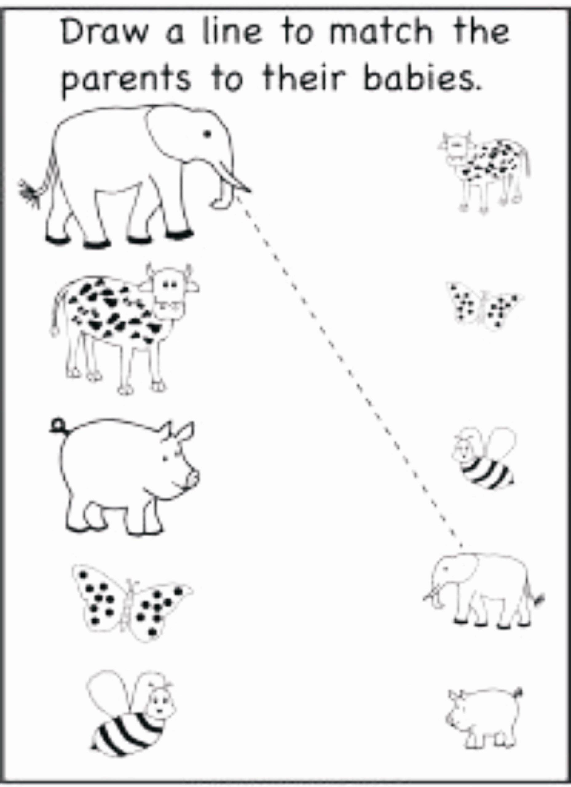 Pairing Worksheets for Preschoolers Kids Matching Pairs Worksheets Preschool