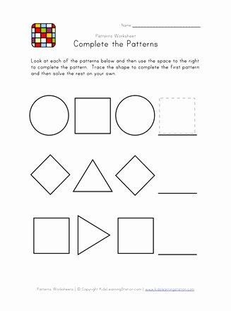 preschool patterns easy2bw