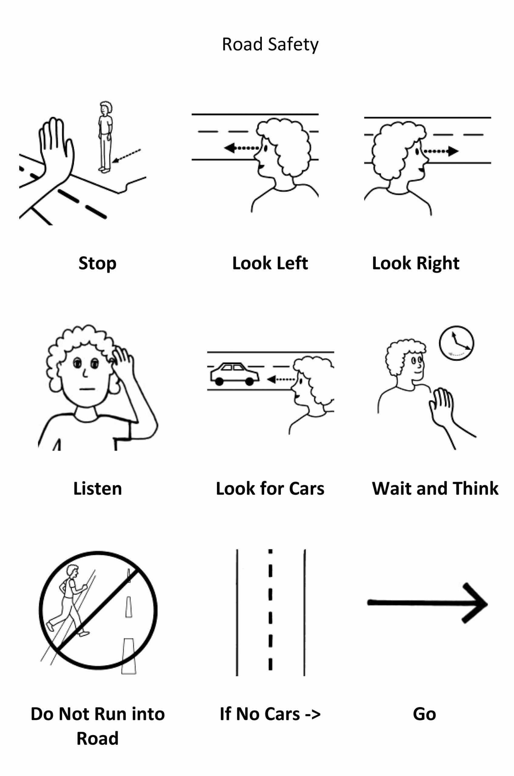 Pedestrian Safety Worksheets for Preschoolers Lovely Posts About Road Safety On Wizzkids