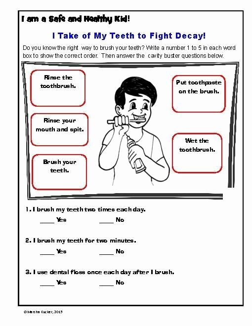 Personal Hygiene Worksheets for Preschoolers Printable Mon Worksheets Free Printable Hygiene Worksheets Hygiene