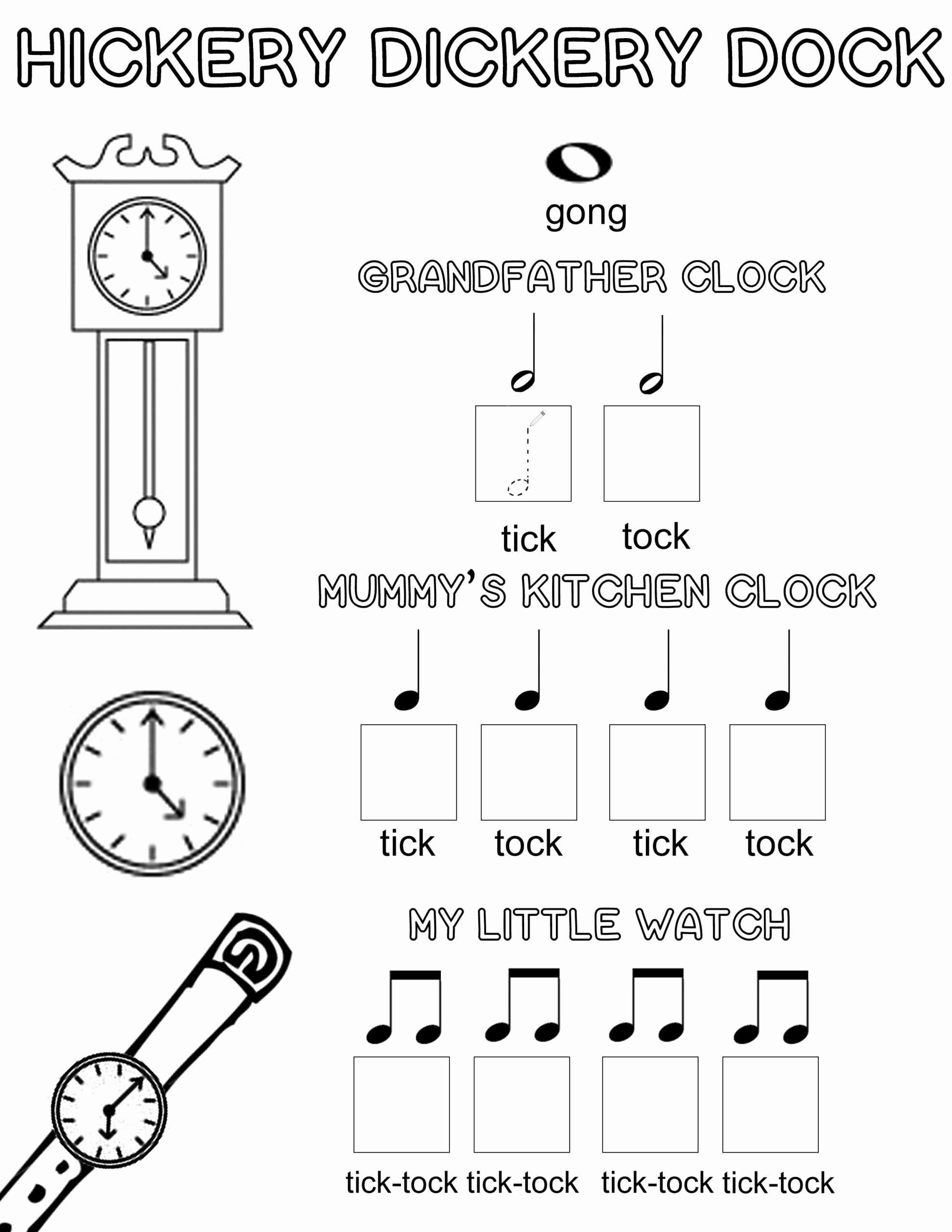 Piano Worksheets for Preschoolers Kids Free Music theory Printable Colouring Activity with