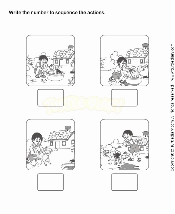 Picture Sequencing Worksheets for Preschoolers New Pattern and Sequencing Worksheet