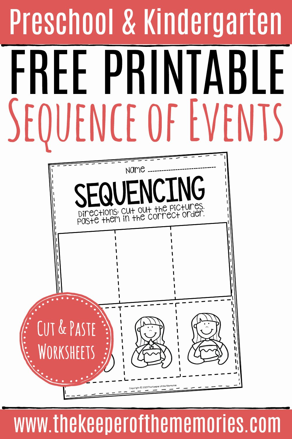 Picture Sequencing Worksheets for Preschoolers Printable Free Printable Sequence Of events Worksheets
