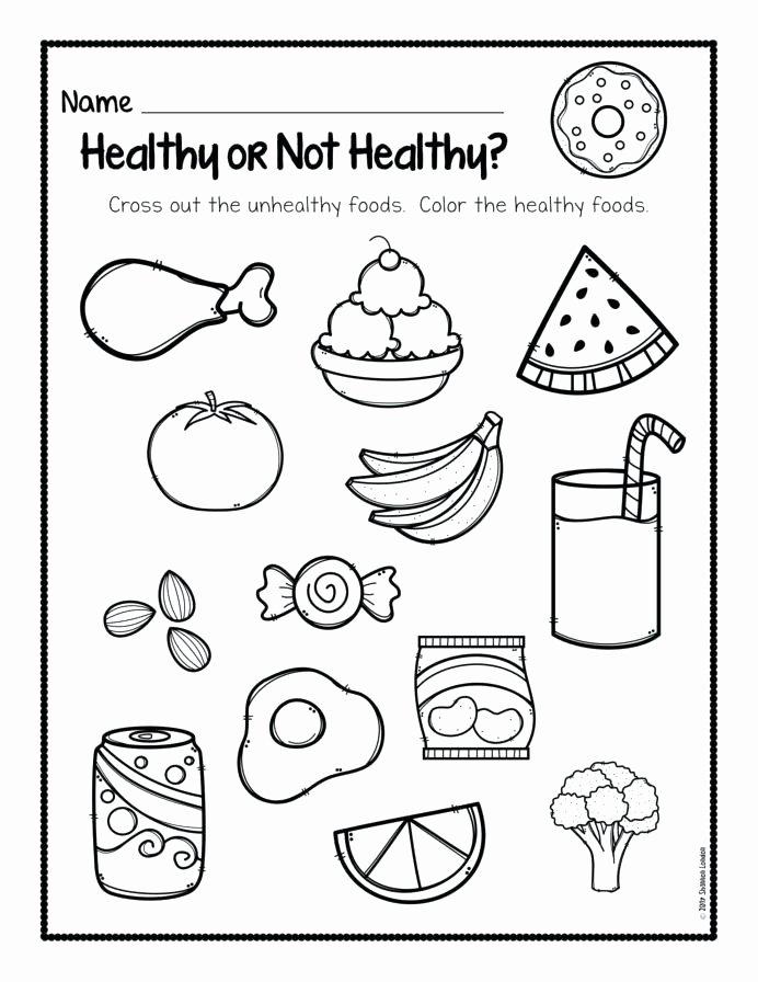 Pizza Worksheets for Preschoolers Inspirational Food Worksheets for Kindergarten Dailycrazynews Picnic