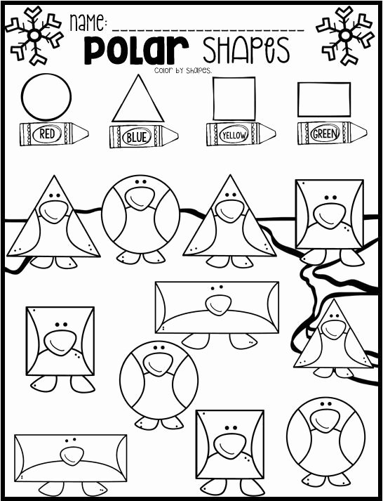 Polar Animal Worksheets for Preschoolers Fresh Polar Animal Math and Literacy Worksheets and Printables for