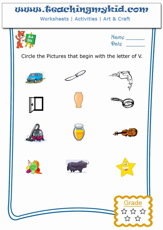 Pollution Worksheets for Preschoolers Free Kindergarten Worksheets Free Circle the Pictures that