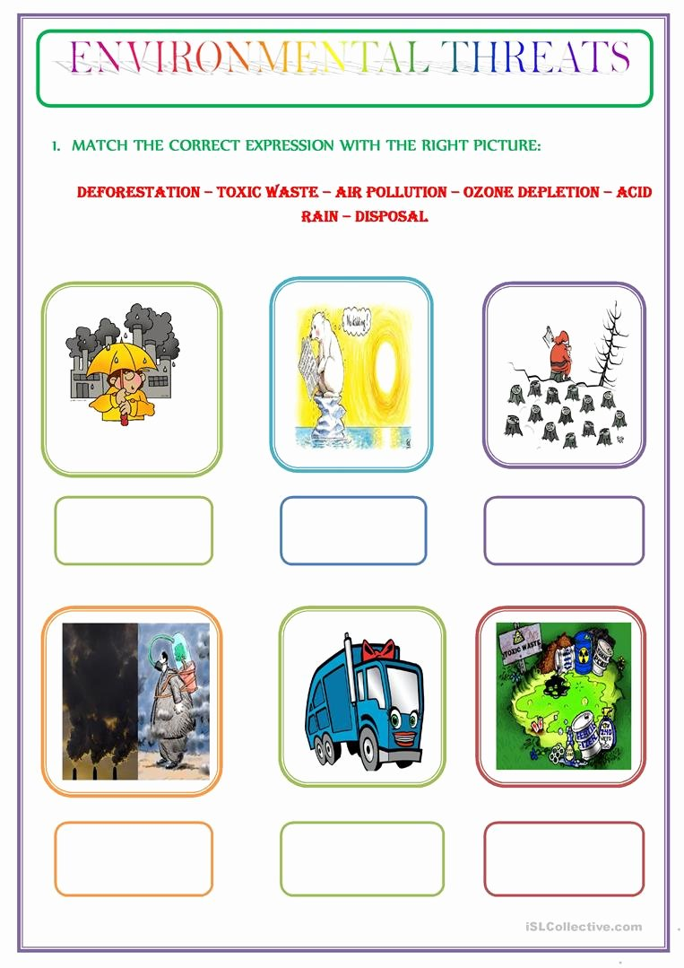 Pollution Worksheets for Preschoolers Kids Worksheets Pollution Worksheets Waytoohuman Free
