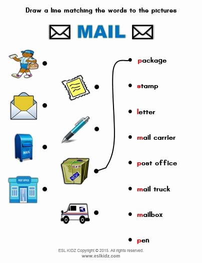Post Office Worksheets for Preschoolers Inspirational Mail Carrier Activities Games and Worksheets for Kids
