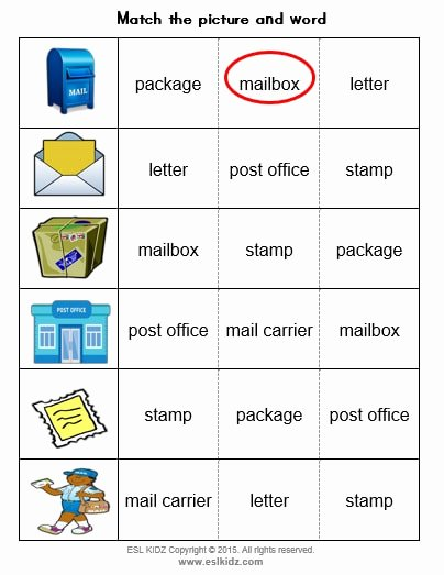 Post Office Worksheets for Preschoolers Lovely Mail Carrier Activities Games and Worksheets for Kids