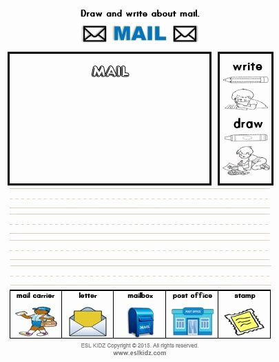 Post Office Worksheets for Preschoolers Printable Mail Carrier Activities Games and Worksheets for Kids