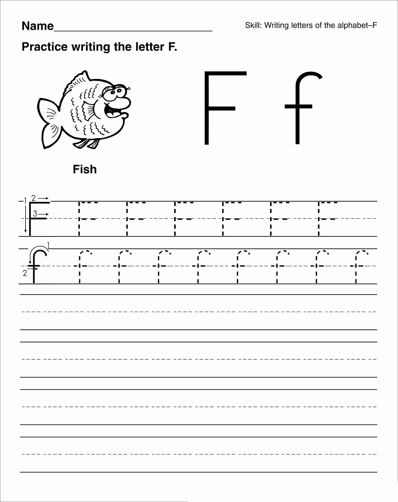 Practice Letter Worksheets for Preschoolers Lovely Worksheets Math Worksheet Printing Letters Worksheets