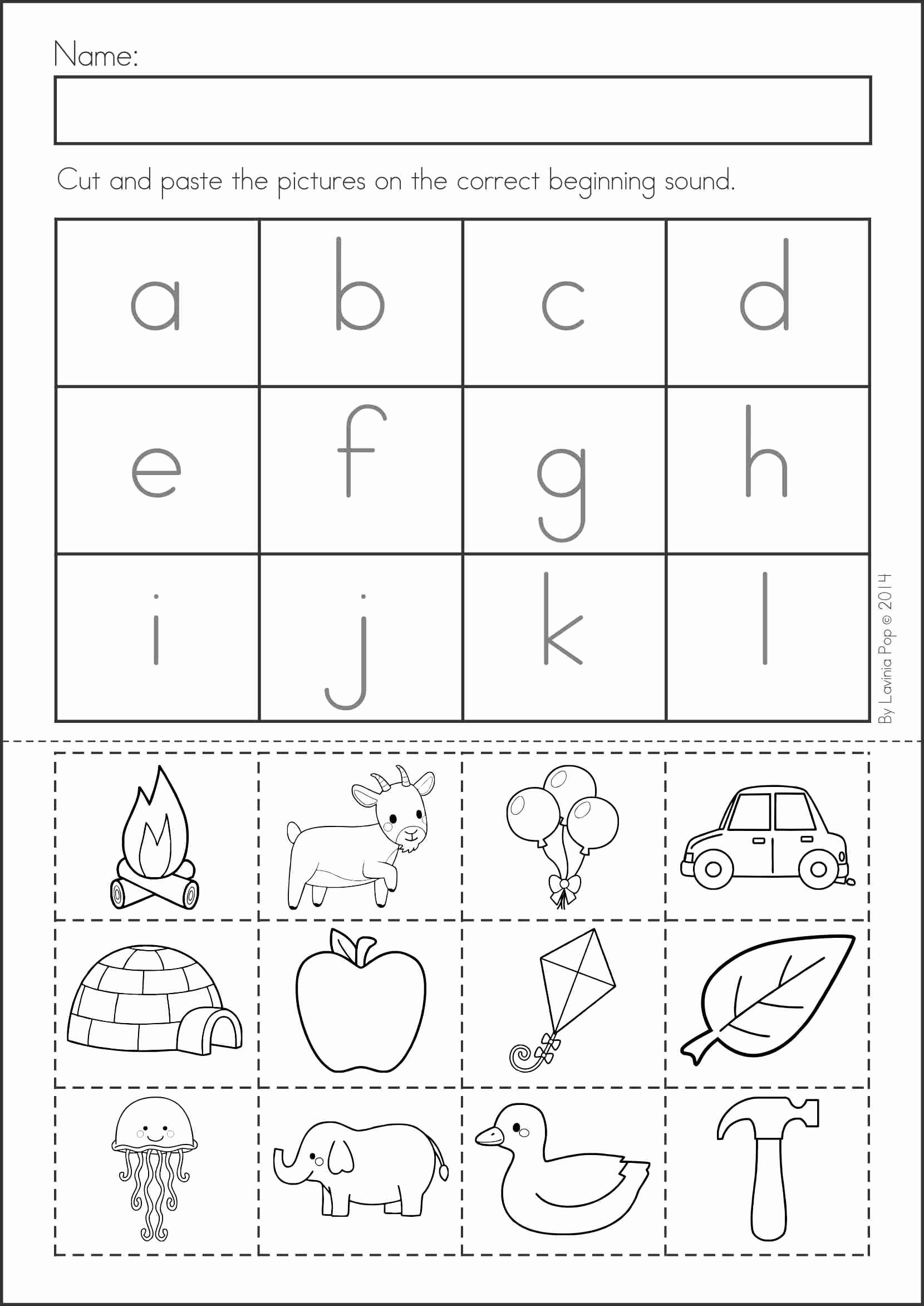 Pre K Printable Cutting Worksheets for Preschoolers Best Of Summer Review Kindergarten Math & Literacy Worksheets