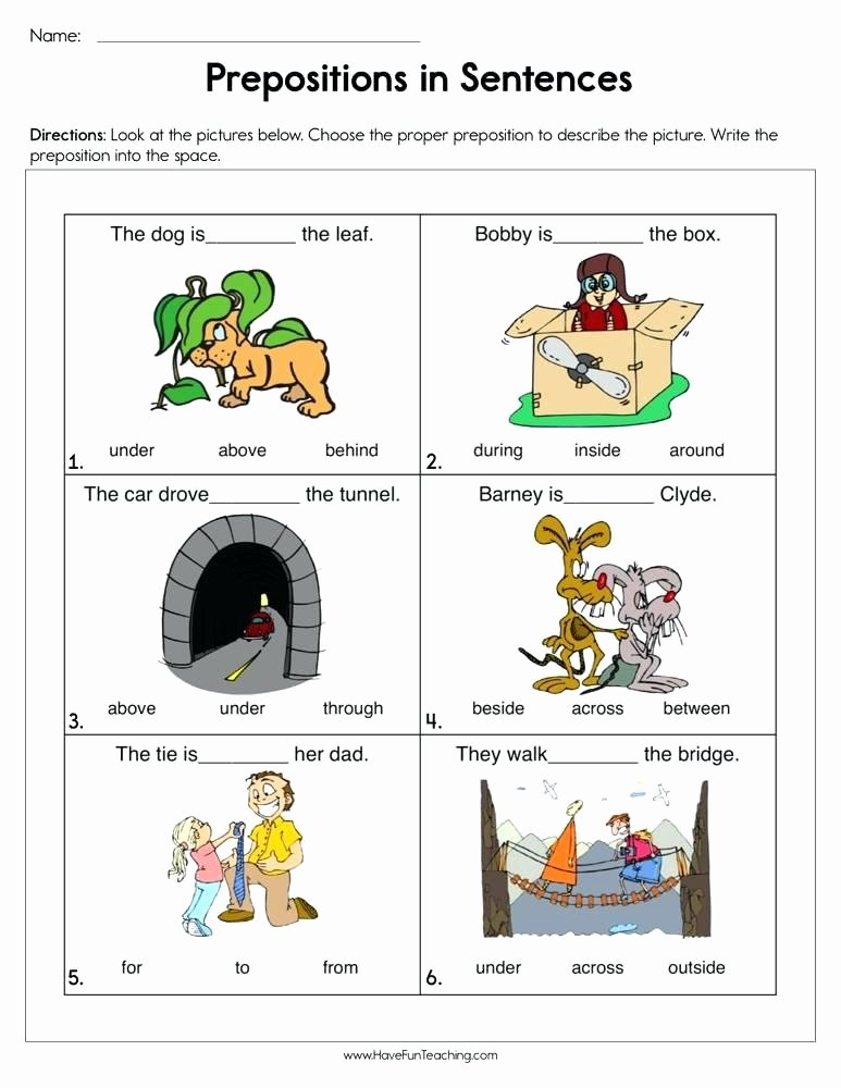 Preposition Worksheets for Preschoolers Lovely Preposition Worksheets for Preschoolers – Keepyourheadup