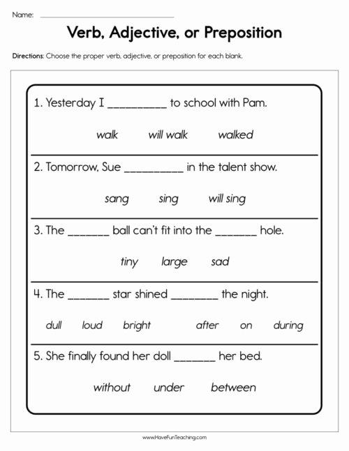 Preposition Worksheets for Preschoolers top Prepositions Worksheets • Have Fun Teaching
