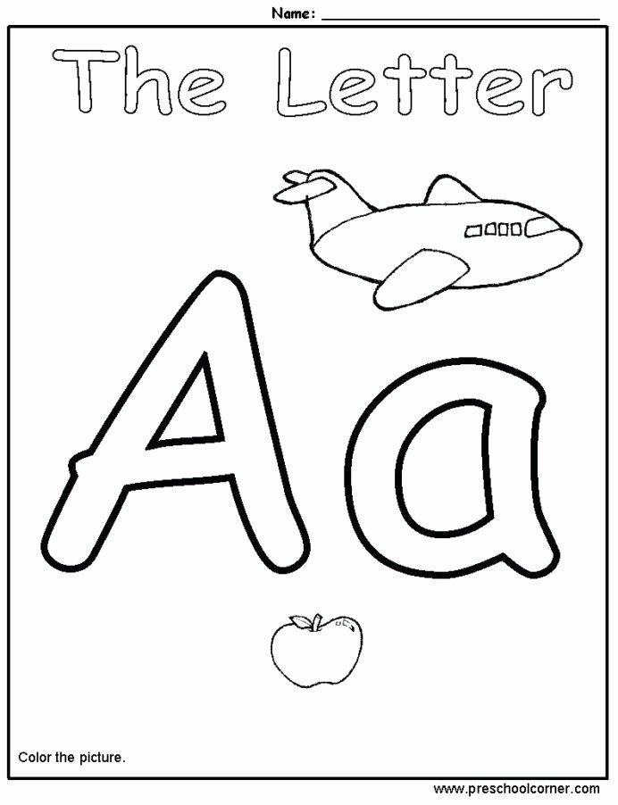 Preschool Alphabet Worksheets for Preschoolers top Letter Recognition Games Printable Kindergarten Alphabet