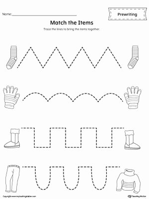 Prewriting Worksheets for Preschoolers New Pre Writing Line Tracing Workbook