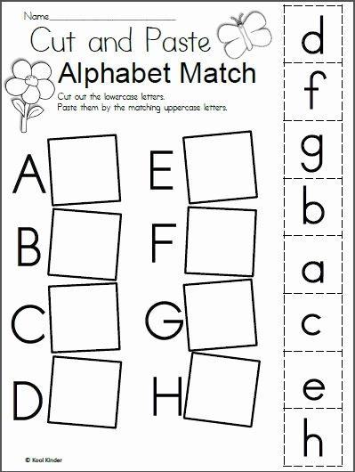 Printable Alphabet Worksheets for Preschoolers Lovely Worksheet Free Spring Alphabet Worksheet Madeteacherse