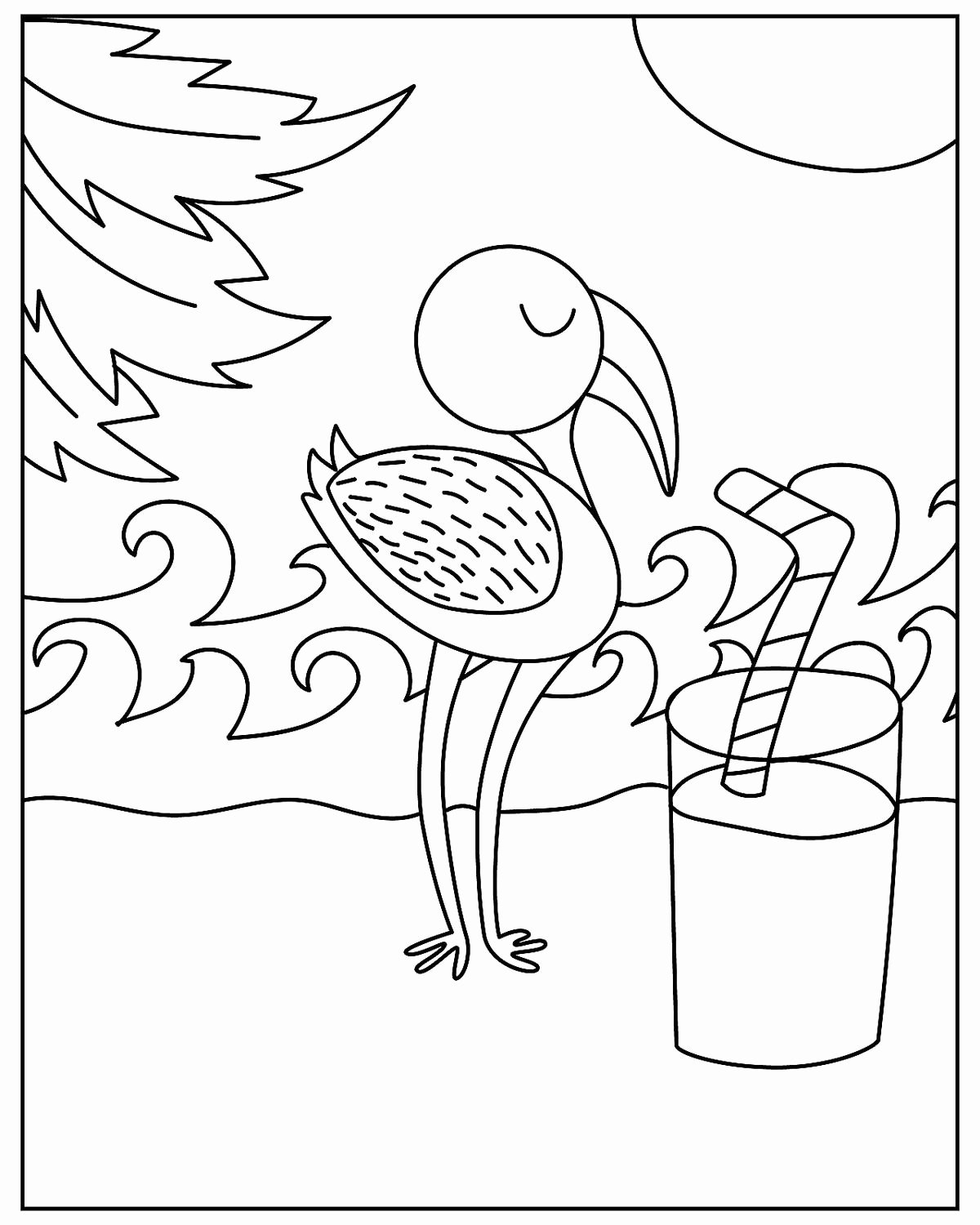 Printable Coloring Worksheets for Preschoolers Printable Free Printable Coloring Sheets for Preschoolers Bird Pages