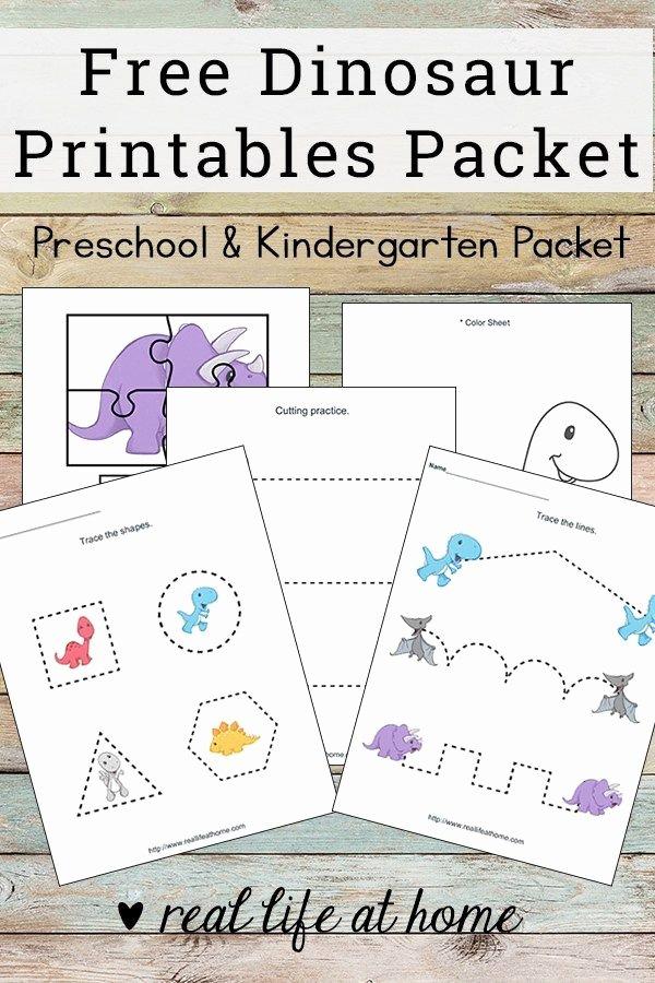 Printable Dinosaur Worksheets for Preschoolers Lovely Dinosaur Printables for Preschoolers Free Dinosaur