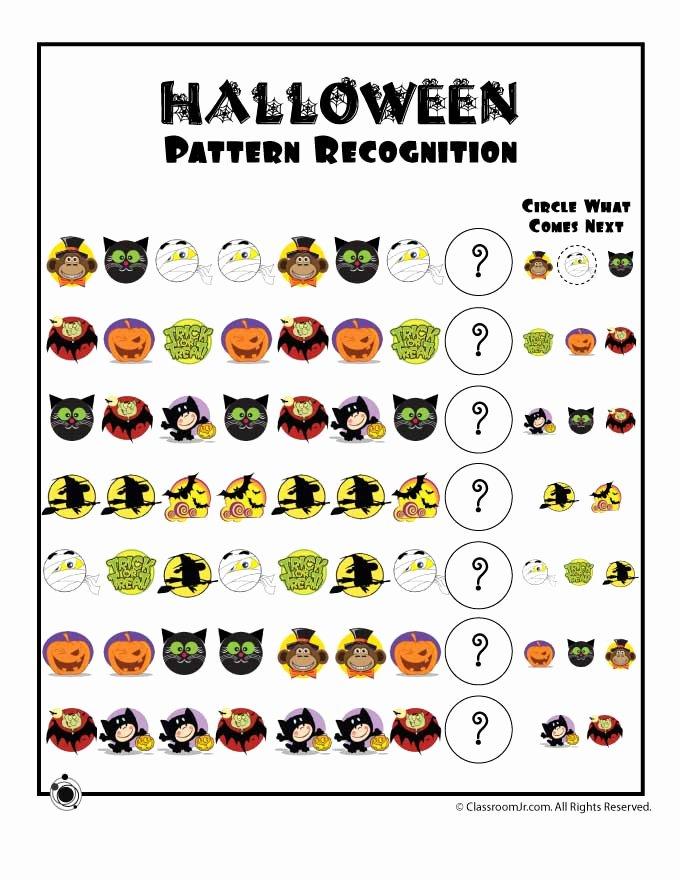 Printable Halloween Worksheets for Preschoolers Free Preschool Worksheets for Halloween