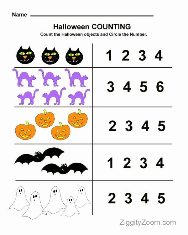 Printable Halloween Worksheets for Preschoolers Fresh Halloween Worksheets for Kids Line Signup Blog by Signup