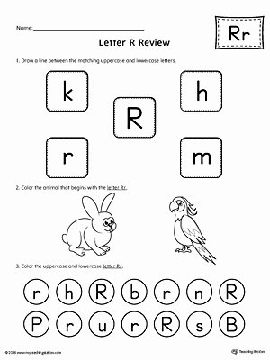 Printable Letter A Worksheets for Preschoolers Kids All About Letter R Printable Worksheet
