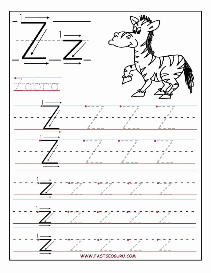 Printable Letter Tracing Worksheets for Preschoolers Lovely Printable Letter Tracing Worksheets for Preschool to
