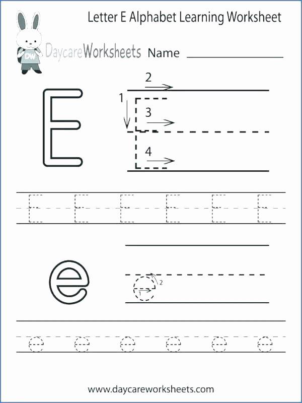 Printable Letter Worksheets for Preschoolers Printable Worksheet Free Printable Letter Worksheets Lowercase