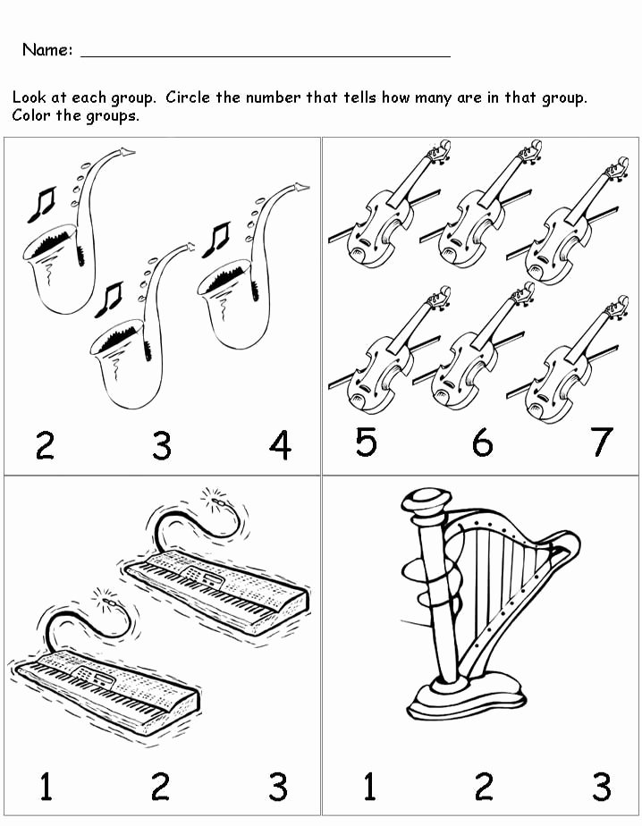 Printable Music Worksheets for Preschoolers Fresh Musical Instruments Worksheet for Kids with Preschool