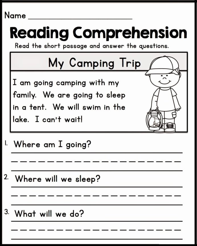 Printable Reading Worksheets for Preschoolers Lovely Printable Worksheets for Kindergarten Reading Free Std Math