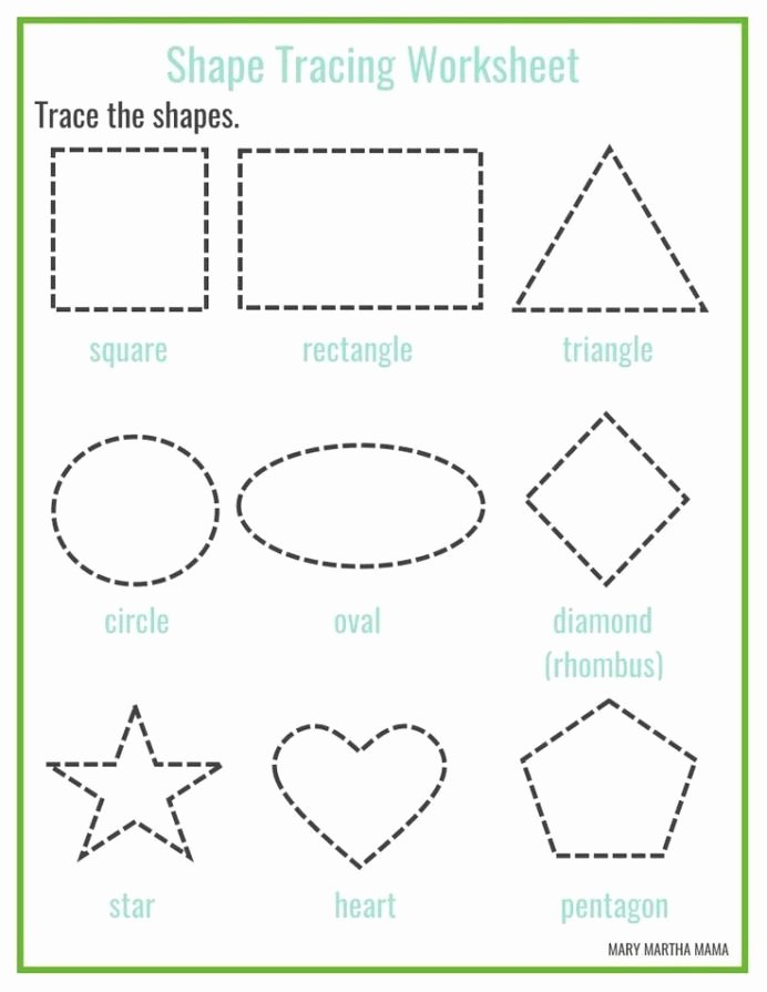 Printable Shapes Worksheets for Preschoolers Best Of Shapes Worksheets for Preschool Free Printables Shape