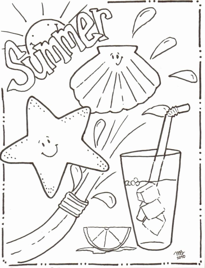 Printable Summer Worksheets for Preschoolers Lovely Coloring Most Out This World Free Printable Summer