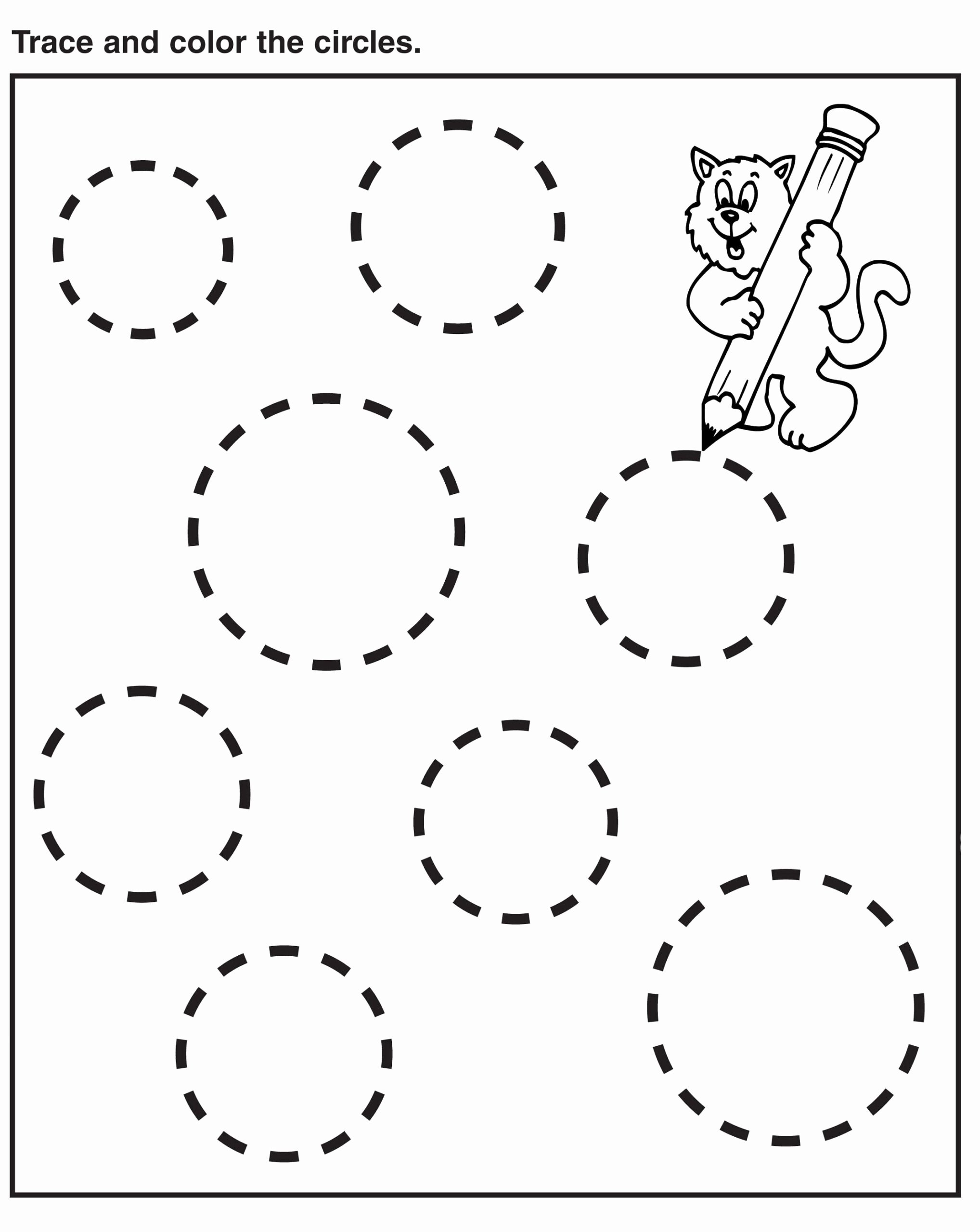 Printable Tracing Worksheets for Preschoolers Best Of Worksheets Preschool Tracing Worksheets Best Coloring for