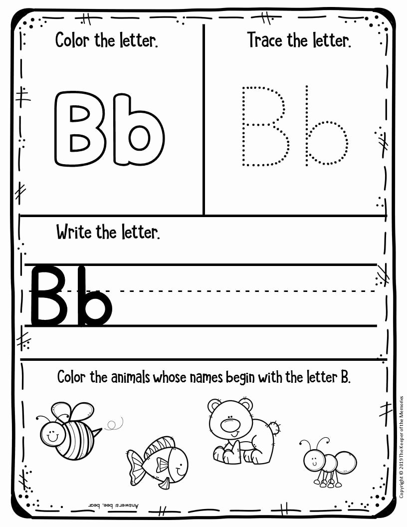 Printable Worksheets for Preschoolers Free Best Of Free Printable Worksheets for Preschool & Kindergarten