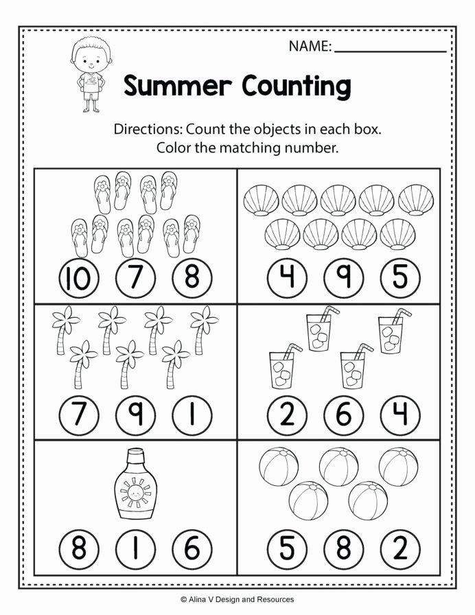 Printable Worksheets for Preschoolers Lovely Color Worksheets for toddlers Printable Preschool Number