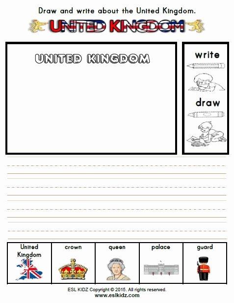 Printable Worksheets for Preschoolers Uk Best Of United Kingdom Worksheets Activities Games and