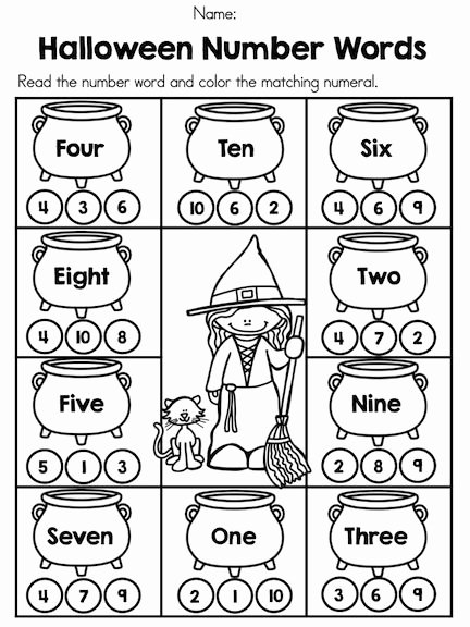 Pumpkin Math Worksheets for Preschoolers Ideas Halloween Math Worksheets Kindergarten Preschool 5th Grade