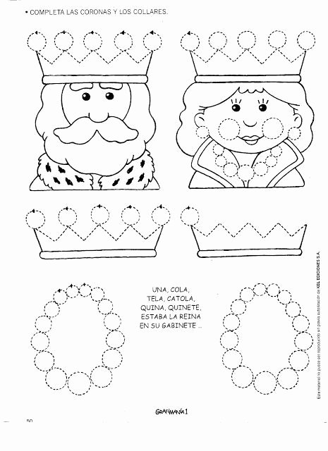Queen Worksheets for Preschoolers Free Queen Trace Line Worksheet