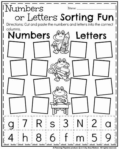 Readiness Worksheets for Preschoolers Kids Back to School Kindergarten Worksheets Planning Playtime