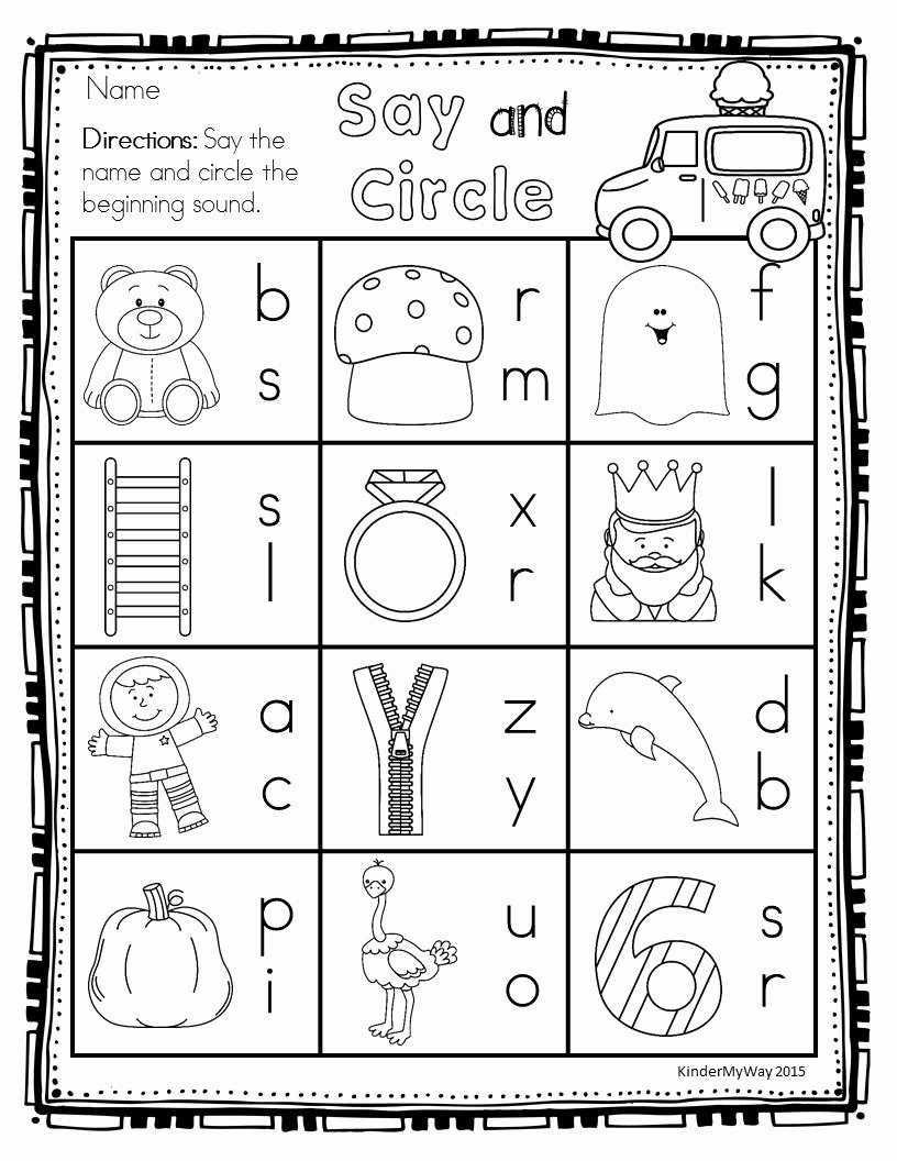 Readiness Worksheets for Preschoolers top Worksheet Worksheet Kindergarten Readinesseets Marvelous