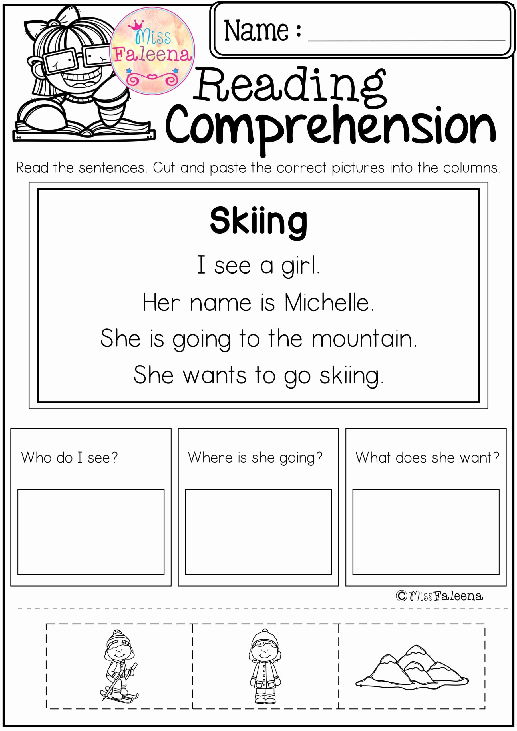 Reading and Writing Worksheets for Preschoolers Lovely Math Worksheet Freeheets for Kindergarten Reading and