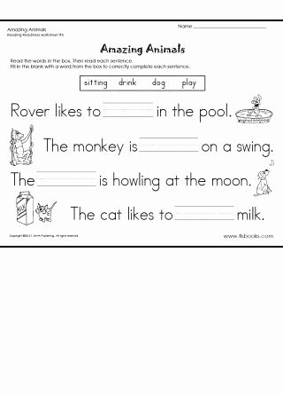Reading Readiness Worksheets for Preschoolers Free Reading Readiness Worksheet 5 Language Arts Practice From