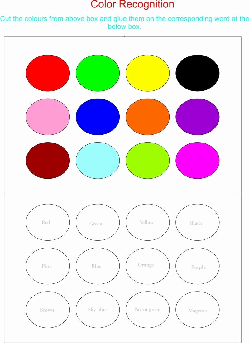 Recognition Colors Worksheets for Preschoolers Printable Enjoy Playing Wtih Colors Here Enjoy Playing Wtih Colors