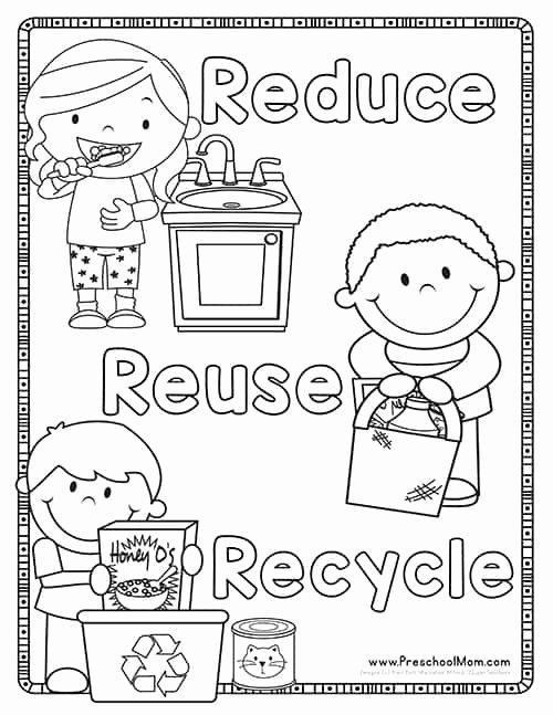Recycling Worksheets for Preschoolers Inspirational Earth Day Preschool Printables Preschool Mom