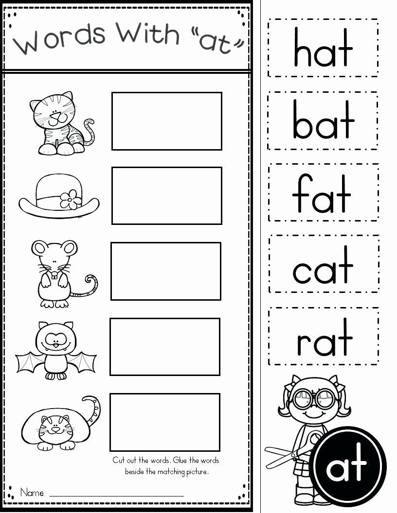 Rhyming Words Worksheets for Preschoolers Best Of Worksheet Interpreting Data Ks2 Worksheets Kindergarten