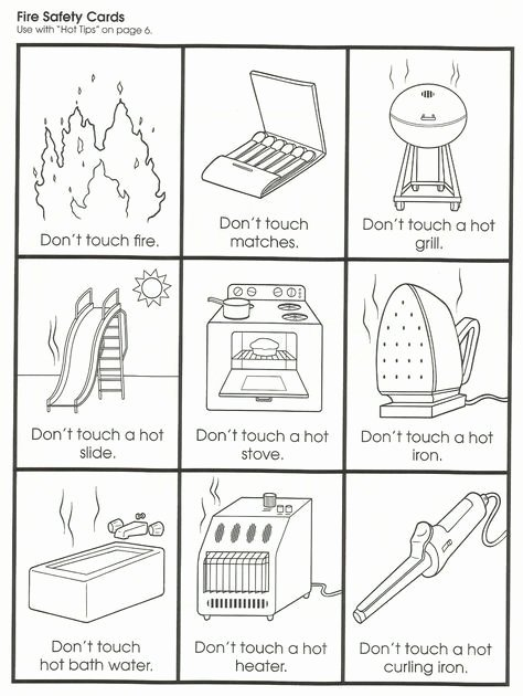 Safety Worksheets for Preschoolers Printable Sadlock Page 2 Ks1 Science Worksheets Materials First
