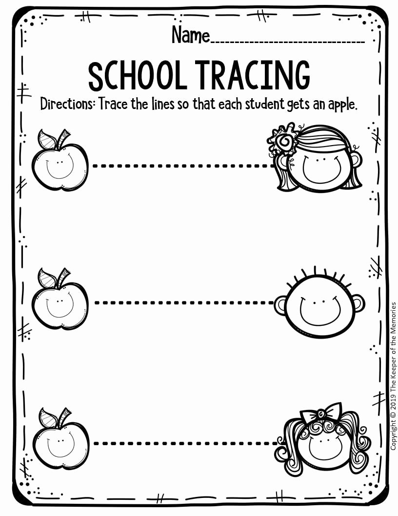 School Worksheets for Preschoolers Printable Free Printable Worksheets for Preschool & Kindergarten